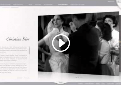 SHOW REEL DIOR e-learning